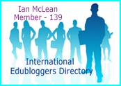 International Edubloggers directory avatar